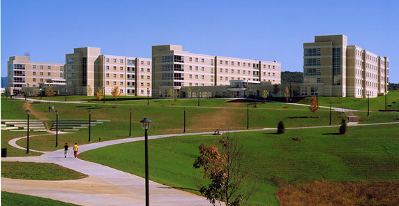 James Madison University, College of Integrated Science and Technology, Residence Hall Complex (CISAT) Harrisonburg, VA