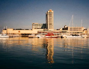 Trump Castle Hotel & Casino and The Frank S. Farley State Marina Atlantic City, NJ